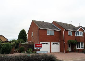 Thumbnail 5 bed detached house for sale in Swallow Close, Whittlesey, Peterborough