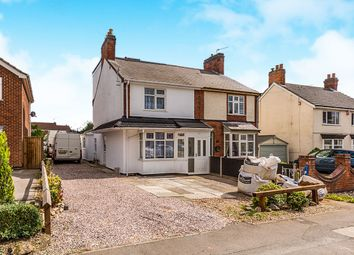 Thumbnail 4 bed semi-detached house for sale in Swannington Road, Ravenstone, Coalville