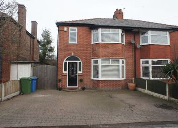 Thumbnail 3 bedroom semi-detached house for sale in Hillock Lane, Woolston, Warrington