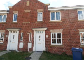Thumbnail 3 bedroom town house to rent in Samian Close, Worksop