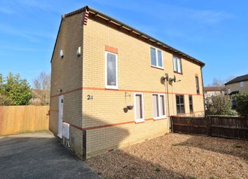 Thumbnail 2 bed semi-detached house for sale in Banktop Place, Emerson Valley, Milton Keynes