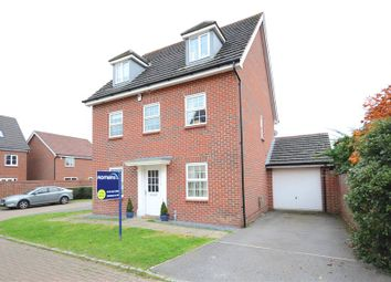 Thumbnail 5 bedroom detached house for sale in Bryant Crescent, Spencers Wood, Reading