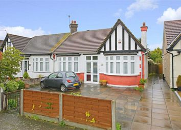 Thumbnail 2 bed semi-detached bungalow for sale in Manorway, Enfield, Middlesex