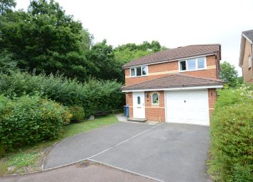 Thumbnail 3 bed detached house to rent in Gondreville Gardens, Church Crookham, Fleet