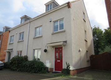 Thumbnail 4 bed town house for sale in Hemming Way, Norwich