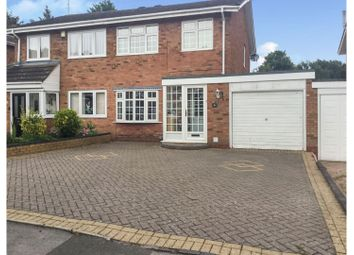 Thumbnail 3 bed semi-detached house for sale in Peterbrook Rise, Solihull
