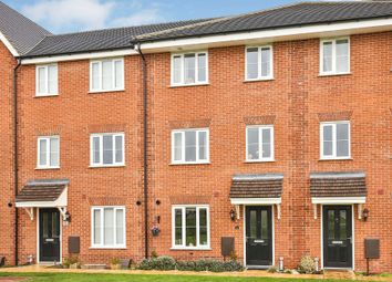 Thumbnail 4 bedroom town house for sale in Blackberry Way, Swaffham, Swaffham