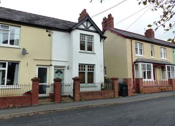 Thumbnail 2 bed end terrace house for sale in St. Johns Road, Brecon
