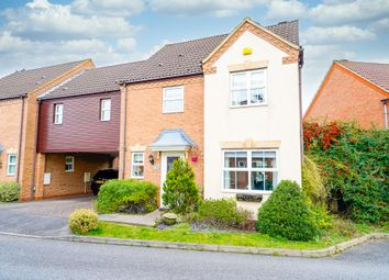 Thumbnail 4 bed link-detached house for sale in Redwing Rise, Royston