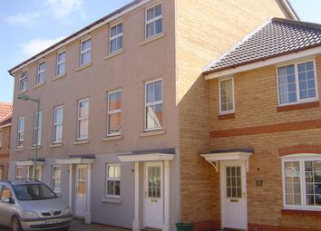 Thumbnail 3 bed town house to rent in Chaffinch Road, Bury St. Edmunds
