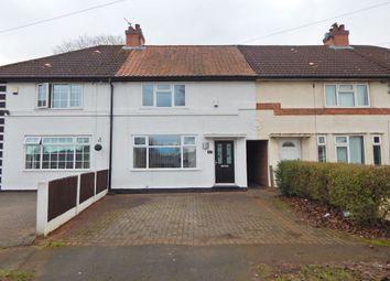 Thumbnail 2 bed terraced house for sale in Trescott Road, Northfield, Birmingham