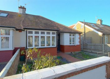 Thumbnail 2 bed semi-detached bungalow for sale in Balmoral Gardens, London