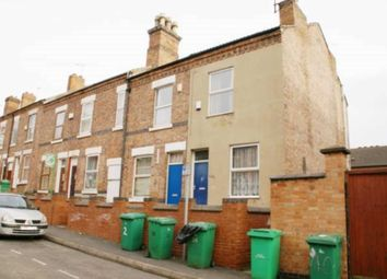 Thumbnail 2 bed terraced house to rent in Chilwell Street, Nottingham