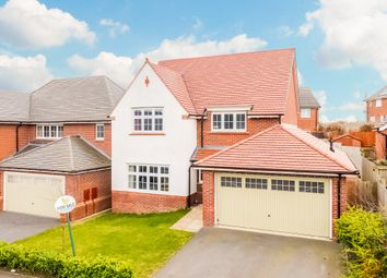 Thumbnail 4 bed detached house for sale in Grange View, Crofton, Wakefield