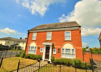 Thumbnail 4 bed detached house to rent in Garfield Park, Great Glen, Leicester