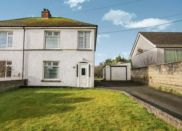 Thumbnail 3 bed semi-detached house for sale in St. Mewan Lane, Trewoon, St. Austell