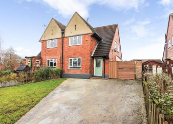 Thumbnail 3 bed semi-detached house for sale in Ashby Road, Breedon-On-The-Hill