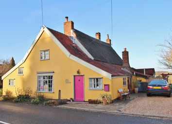 Thumbnail 2 bed cottage for sale in Hitcham, Ipswich, Suffolk