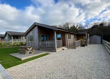 Thumbnail 2 bed lodge for sale in St Columb, Cornwall