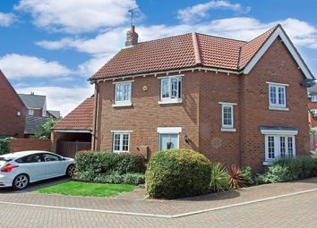 Thumbnail 3 bed detached house for sale in Furrow Close, Barrow Upon Soar, Loughborough
