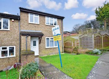 Thumbnail 2 bed end terrace house for sale in Ramillies Close, Walderslade, Chatham, Kent