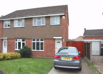 Thumbnail 3 bed semi-detached house to rent in Newstead Road South, Shipley View, Ilkeston, Derbyshire
