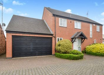 Thumbnail 4 bed detached house to rent in Harveys Court, Sapcote, Leicester