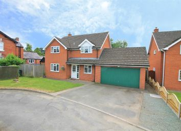 Thumbnail 4 bed detached house for sale in Church Road, Hereford