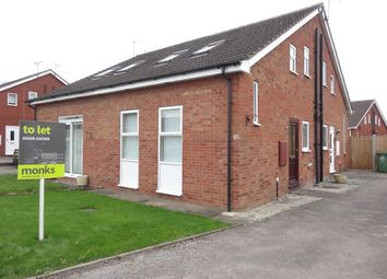 Thumbnail 1 bed semi-detached house to rent in 85 Somerset Way, Wem, Shrewsbury