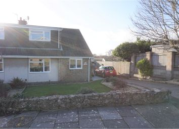 Thumbnail 4 bed semi-detached house for sale in Heol-Y-Felin, Llantwit Major