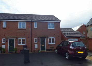 Thumbnail 2 bed end terrace house to rent in Linnet Lane, Melksham, Wiltshire