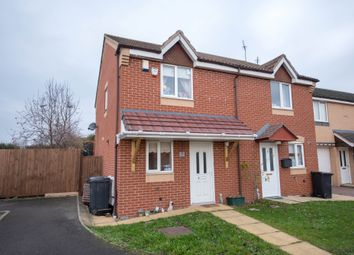 Thumbnail 2 bed semi-detached house for sale in Millbrook Drive, Carlton, Nottingham