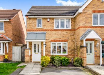 Thumbnail 3 bed end terrace house for sale in Kingfisher Court, Normanton