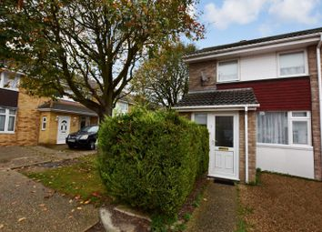 Thumbnail 2 bedroom end terrace house to rent in Burdun Close, Witham, Essex