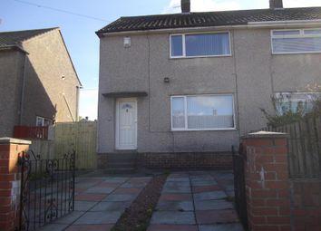 Thumbnail 2 bed semi-detached house to rent in Sheraton, Gateshead