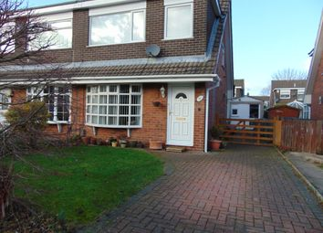 Thumbnail 3 bed semi-detached house for sale in Yardley Drive, Spital, Wirral, Merseyside