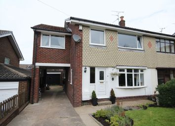 Thumbnail 4 bedroom semi-detached house for sale in Shaftesbury Drive, Wardle, Rochdale