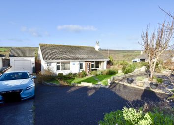 Thumbnail 3 bed detached bungalow for sale in Treza Road, Porthleven
