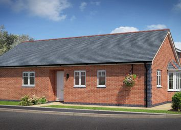 Thumbnail 3 bed detached bungalow for sale in Arddleen, Powys