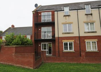 Thumbnail 1 bed flat to rent in Turner Square, Stobhill, Morpeth