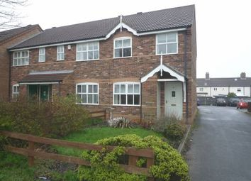 Thumbnail 2 bed end terrace house to rent in Cordeaux Close, Louth