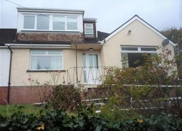 Thumbnail 3 bedroom semi-detached bungalow for sale in Broadway, Pontypool