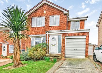 Thumbnail 4 bed detached house for sale in Gorton Close, Billingham