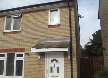 Thumbnail 3 bed semi-detached house to rent in Alabaster Close, Hadleigh, Ipswich