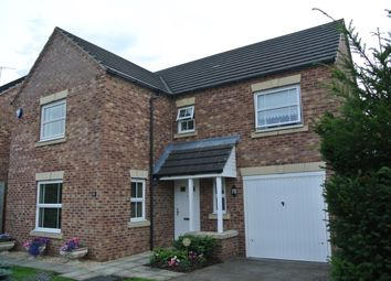 Thumbnail 4 bed detached house to rent in Sandwath Drive, Church Fenton, Tadcaster