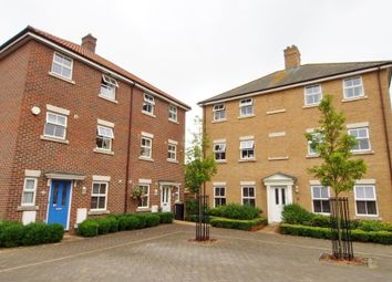 Thumbnail 4 bed town house for sale in Greenland Avenue, Wymondham