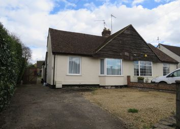 Thumbnail 2 bed semi-detached bungalow for sale in Polwell Lane, Barton Seagrave, Kettering