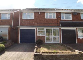 Thumbnail 3 bedroom end terrace house for sale in Wood Lane, Woodgate, Birmingham, West Midlands