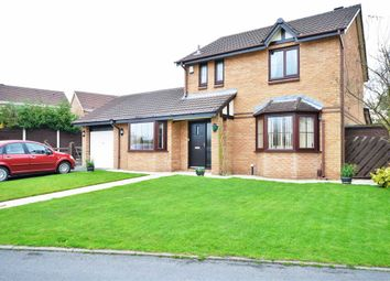 Thumbnail 3 bed detached house for sale in Glenmaye Grove, Hindley Green, Wigan
