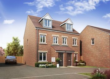 "Thumbnail 2 bedroom town house for sale in ""The Foxton"" at Theedway, Leighton Buzzard"